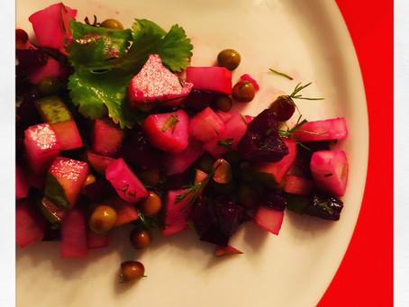 Gaivios salotos su kriaušėmis