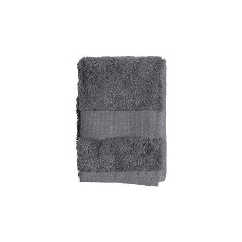 Vonios rankšluostis, tamsiai pilkas, 30 x 50 cm