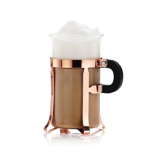 CHAMBORD, puodelis, 0,3l, vario spalvos plienas, stiklas, 2vnt.