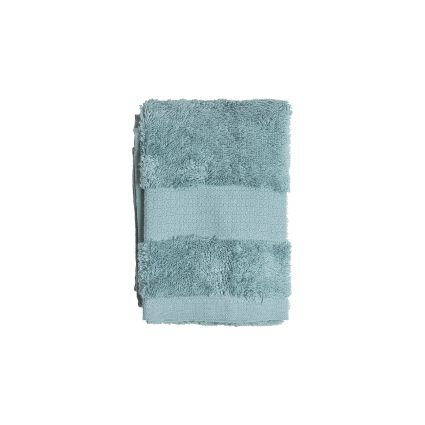Vonios rankšluostis, turkio spalvos, 30 x 50 cm