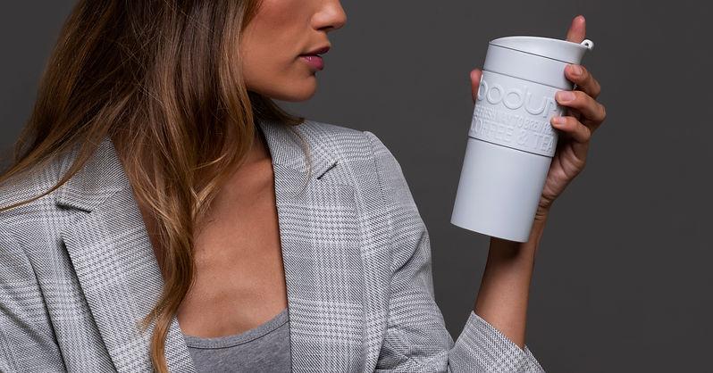 TRAVEL MUG termo puodelis svelniai pilka