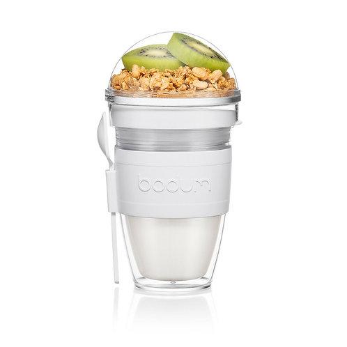JOYCUP termo puodelis maistui, plastikas, pilkas, 0,25l