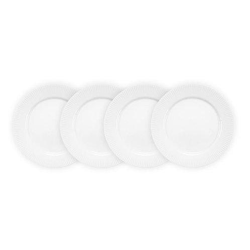 DOURO lėkštė 23cm, 4vnt., porcelianas