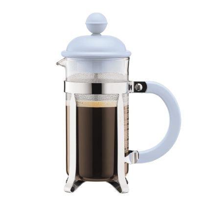 CAFFETTIERA kavinukas  su filtru, 0,35l, melsvas