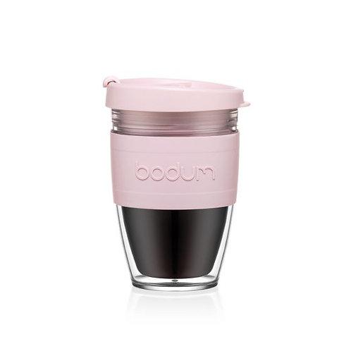 Kelioninis puodelis JOYCUP, 0,25l, švelni rausva