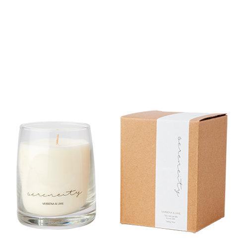SERENITY kvepianti žvakė, verbena ir laimas