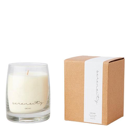SERENITY kvepianti žvakė, orchidėja