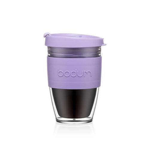 Kelioninis puodelis JOYCUP, 0,25l, alyvinė