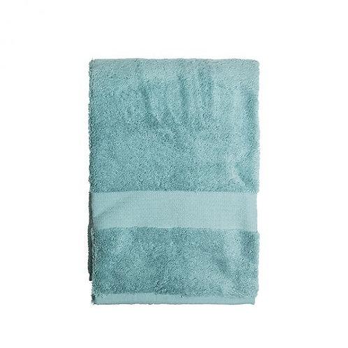 Vonios rankšluostis, turkio spalvos, 70 x 140 cm