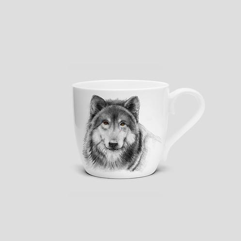 VILKAS puodelis 415ml, porc.