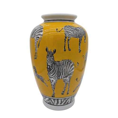 ZEBRAS vaza, 20x30cm