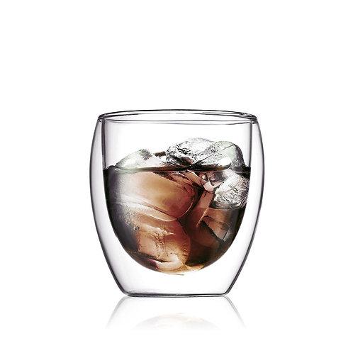 PAVINA stiklinės dviguba sienele, 2vnt., 0,25l