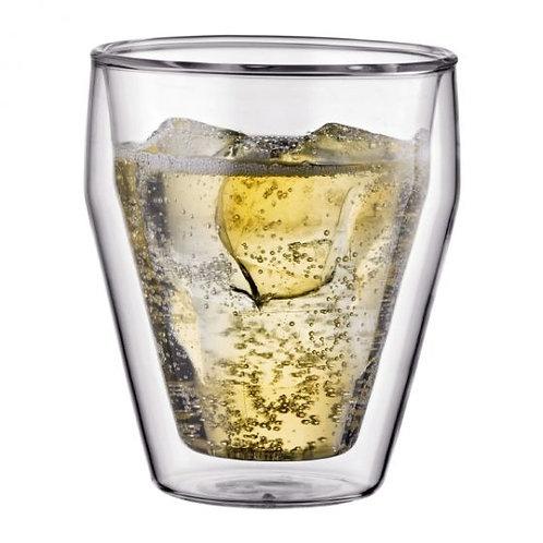 TITLIS stiklinės dviguba sienele,  2vnt., 0,25l