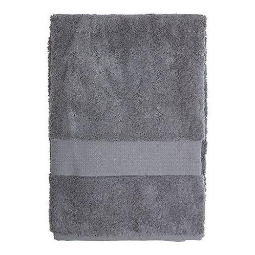 Vonios rankšluostis, tamsiai pilkas, 70 x 140 cm