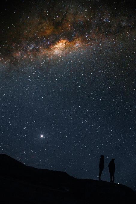 星を見て大切なことに気づく~満天の星空を見上げて思う事