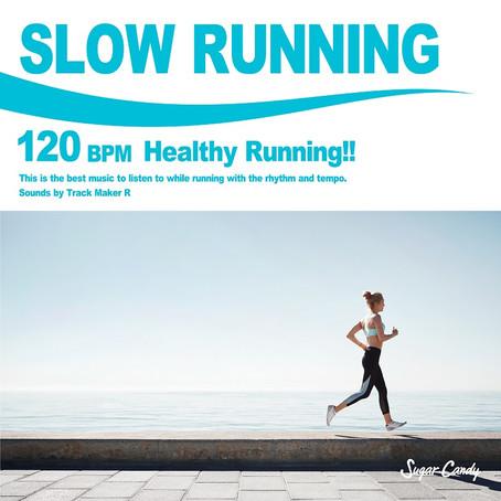 『Track Maker R / SLOW RUNNING 120 BPM -Healthy Running!!-』3月19日リリース!