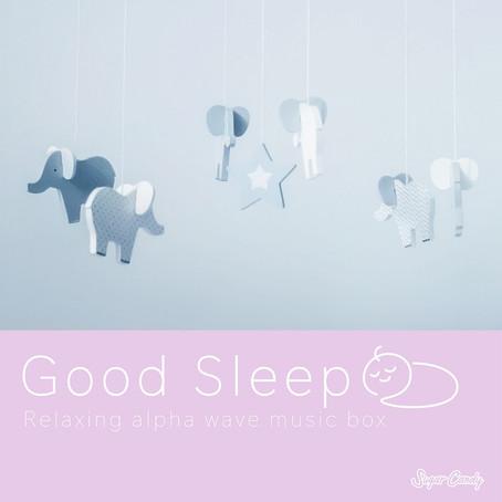 『RELAX WORLD / 良好的睡眠〜α波音樂盒,其中阿卡可以睡〜』9月3日發售!