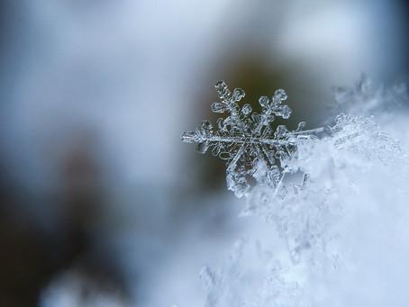 澄んだ冬の空気を感じて気持ちを落ち着かせる