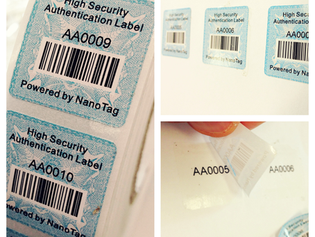 NanoTag Security Packaging: The technology is invisible, but the benefits are transparent!