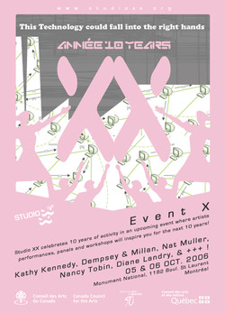Event X flyer