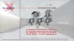 mix session flyer