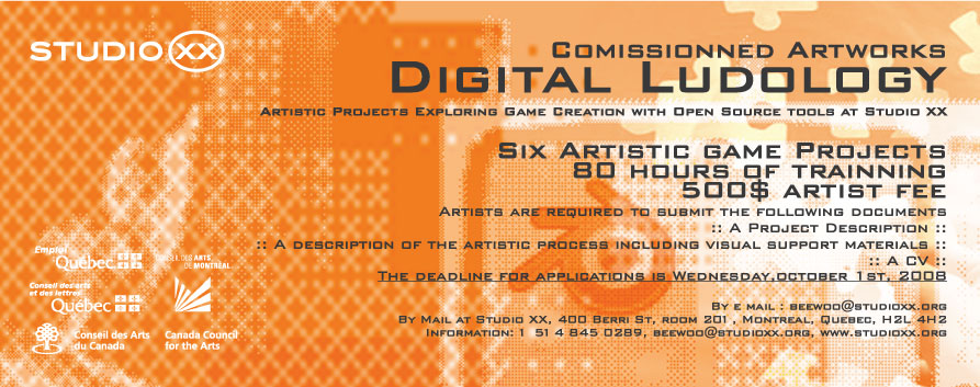 digital ludology flyer