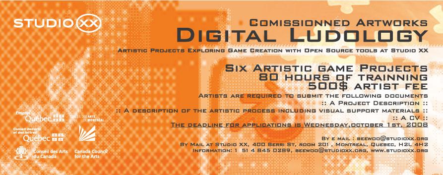 digital ludology flyer