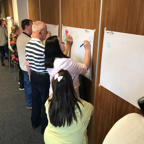 Graphic recording training