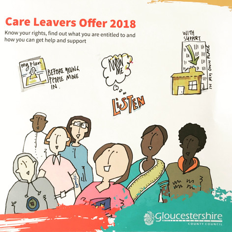 illustration for Care Leavers Offer