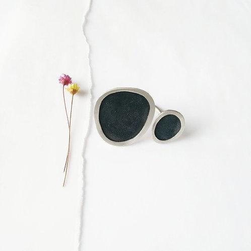 Anel Abrolhos Negro