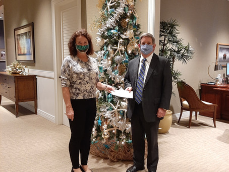 TowneBank Donates to Room in the Inn