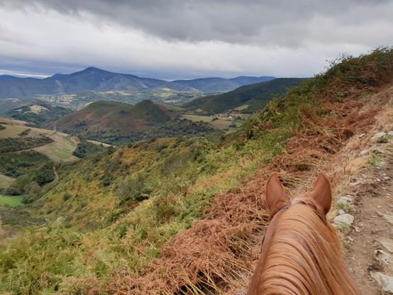 MOUNTAIN RIDE Camino de santiago