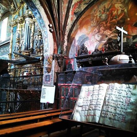 Przepiękne są kościoły Nawarry_#caminoac