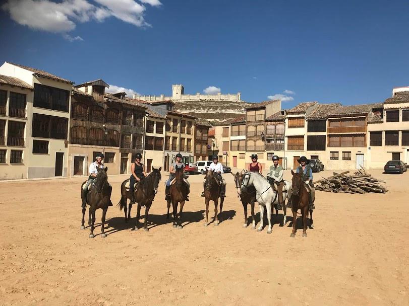 Wine horse trail, Ribera del duero