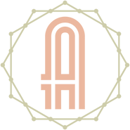 The_Alley_logo_symbol_peach_green_on_whi