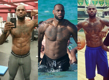 Detailed look at LeBron's 2014 Diet