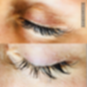 Lash extension before after