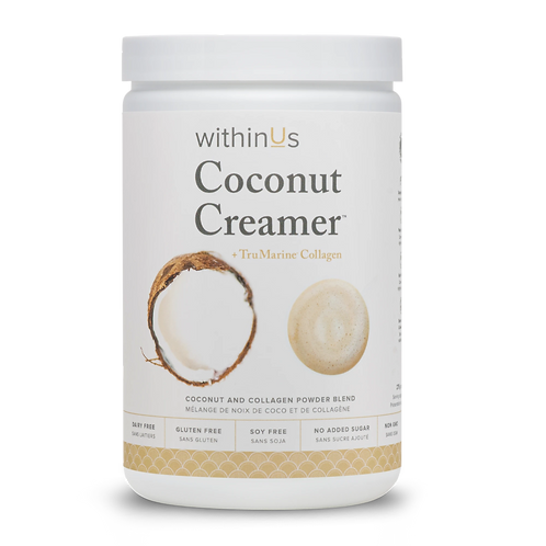 WithinUs Coconut Creamer + TruMarine Collagen