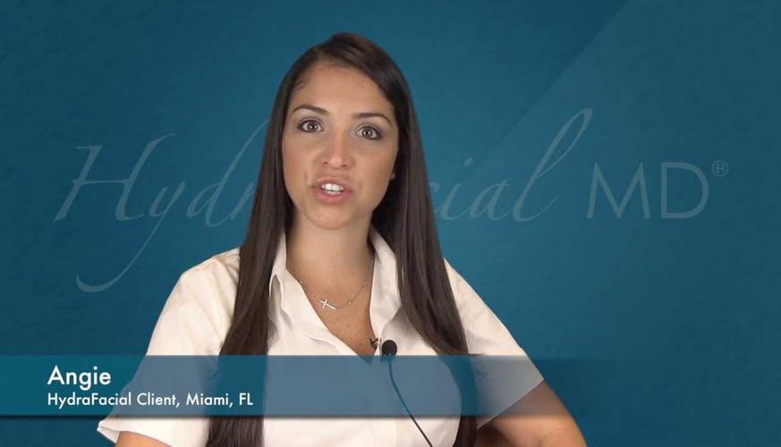 HydraFacial patient testimonial