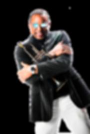 Skip Martin-Promo Photo-Black Jacket & T