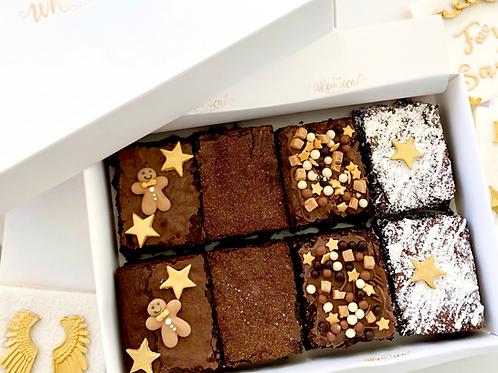 Christmas Artisan Brownie Box