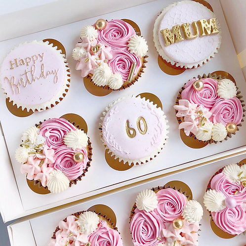 Box of 12 Cupcakes COLLECTION ONLY
