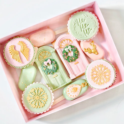 Pastel Christmas Hamper - Collection Only