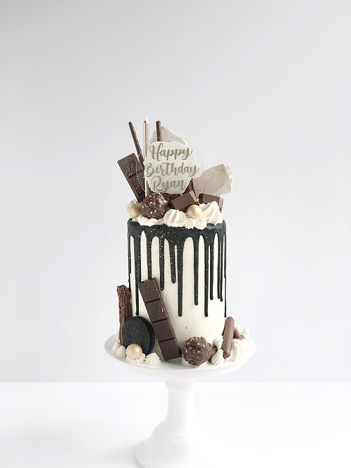 Chocolate Overload Drip Cake COLLECTION ONLY