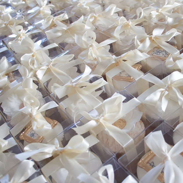 Boxed Cupcake Wedding Favours