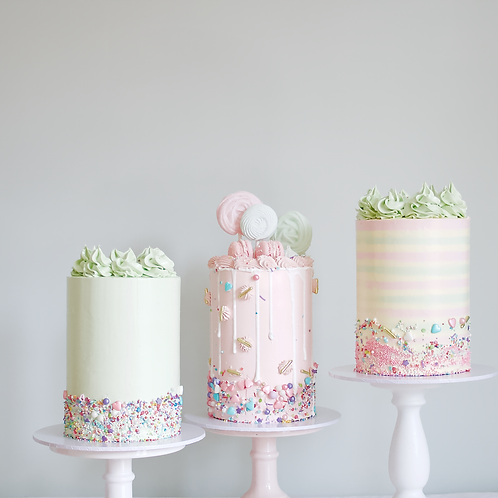 COLLECTION ONLY - MINI Pastel Buttercream Cake