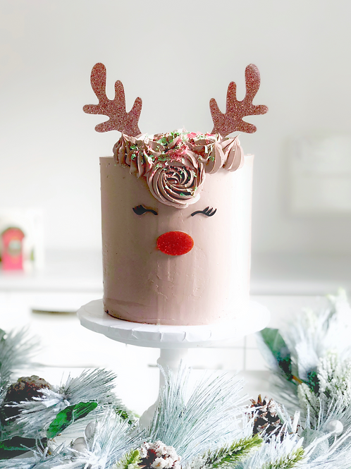 Rudolph Buttercream Cake COLLECTION ONLY