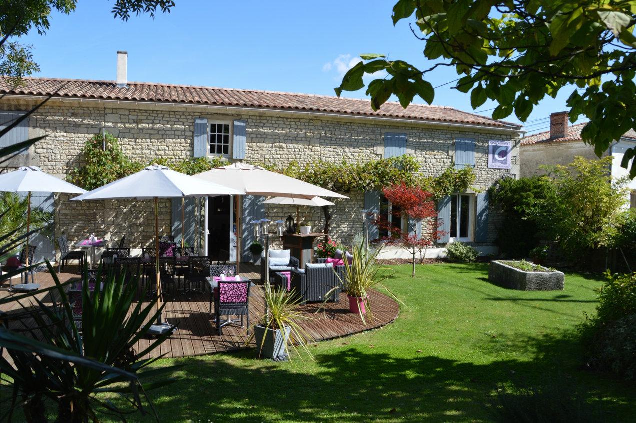 Le restaurant Au Clos Gourmand à Saint Félix en Charente-Maritime