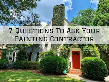 7 Questions To Ask Your Painting Contractor In Cincinnati, OH