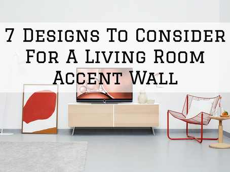 7 Designs To Consider For A Living Room Accent Wall in Dayton, OH